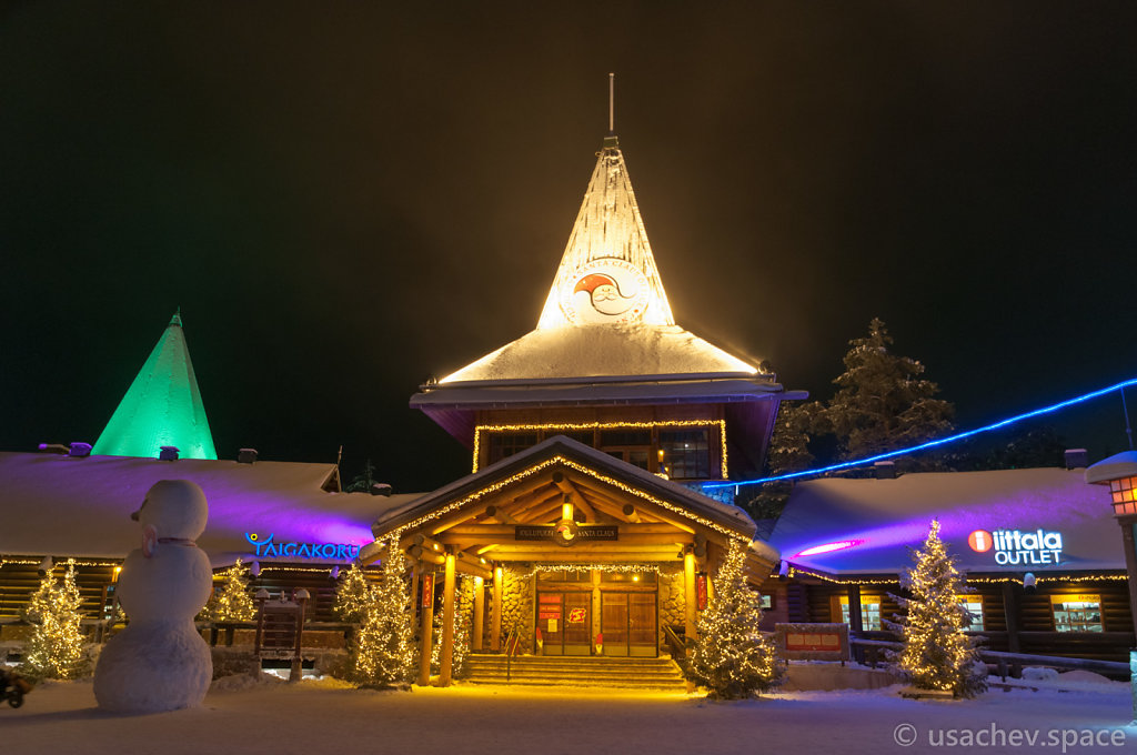 Santa Claus's Office in Santa Claus Village