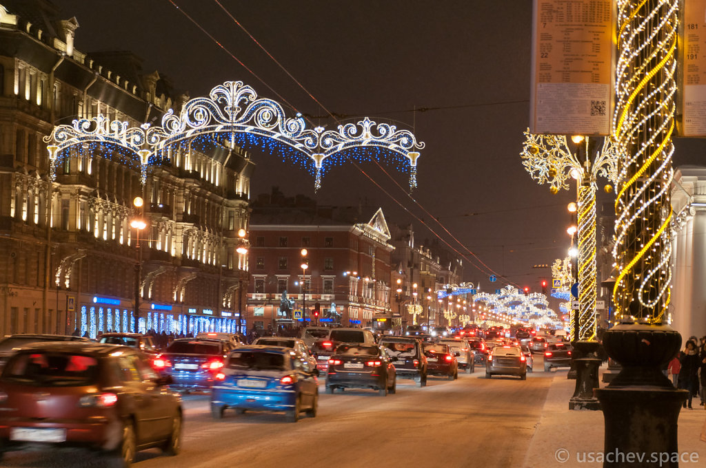 Lights of Nevsky Prospect