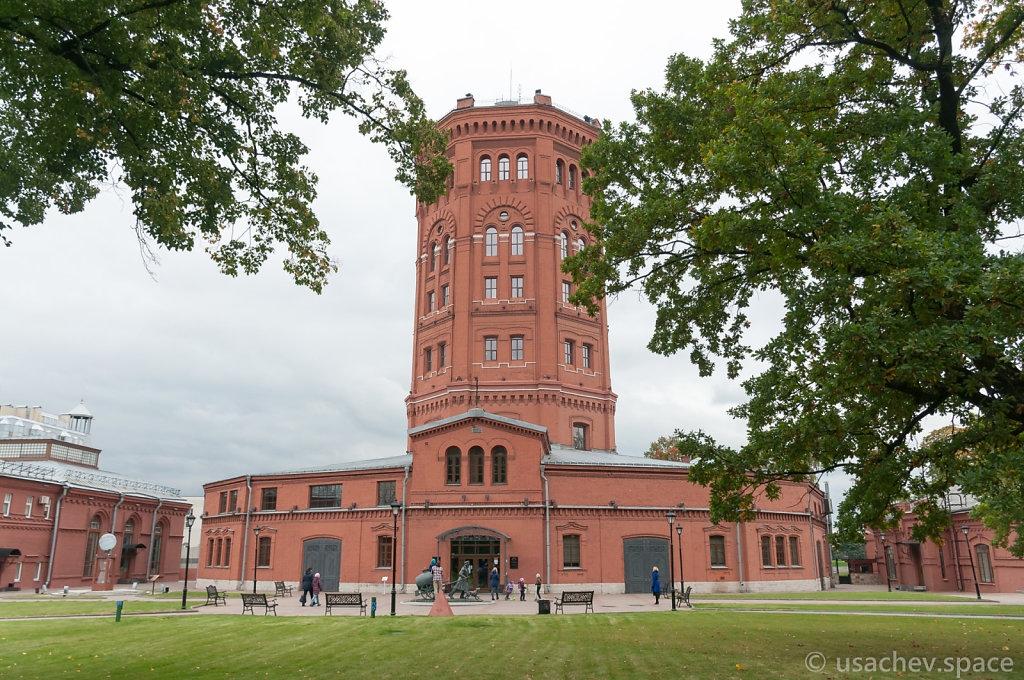 The Water Tower in The Universe of Water Museum Complex