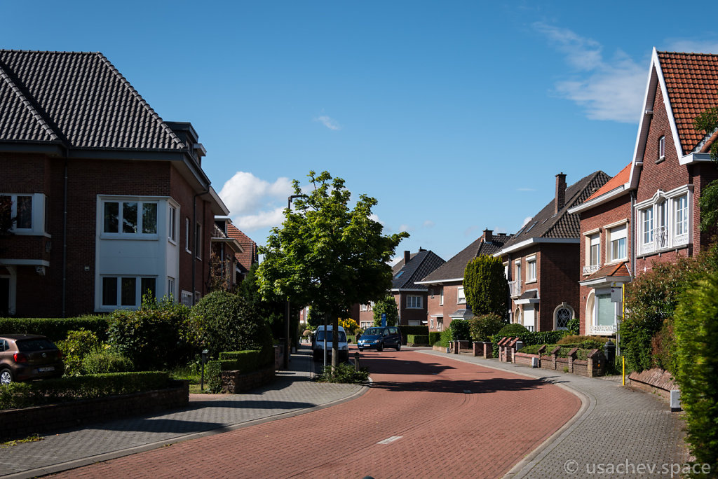 In the suburbs of Mechelen.